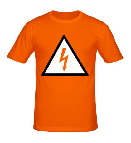 Мужская футболка Высокое напряжение