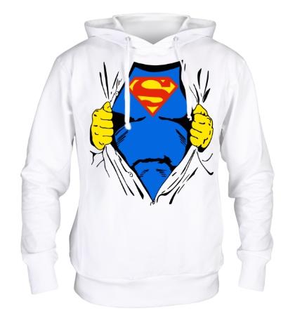 Толстовка с капюшоном Костюм супермена