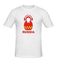 Мужская футболка Russia dj