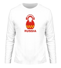 Мужской лонгслив Russia dj