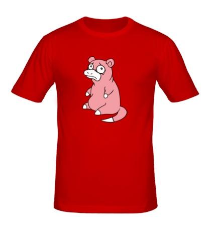 Мужская футболка Грустный слоупок