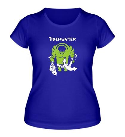 Женская футболка Tidehunter