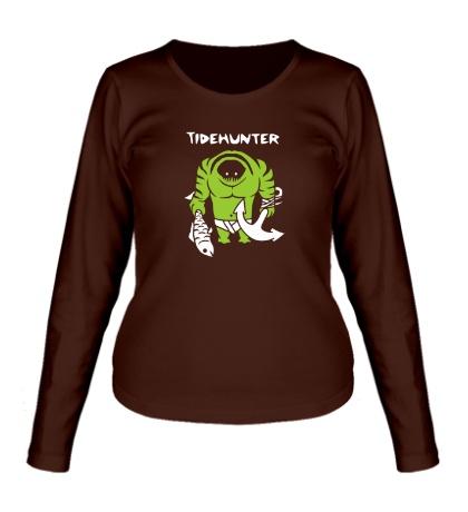 Женский лонгслив Tidehunter