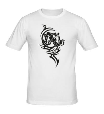 Мужская футболка Качай железо