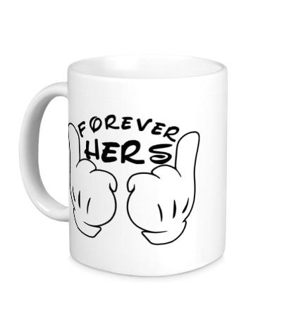 Керамическая кружка Forever hers