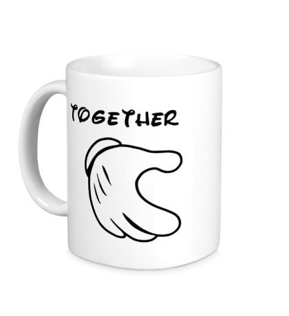 Керамическая кружка Together Hand