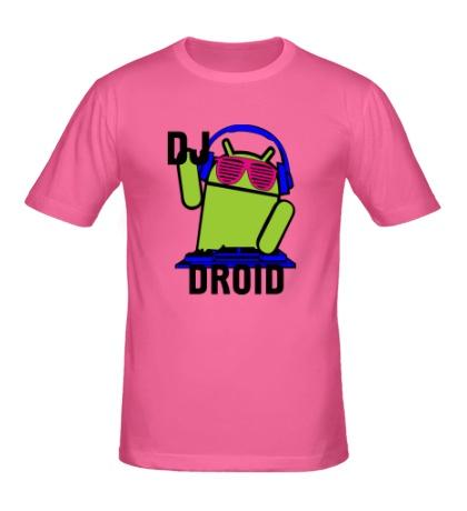 Мужская футболка Dj droid