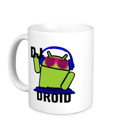 Керамическая кружка Dj droid