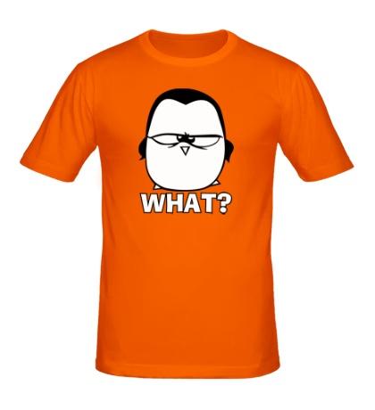 Мужская футболка What penguin?