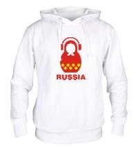 Толстовка с капюшоном Russia dj