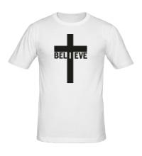 Мужская футболка Believe