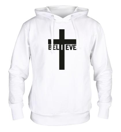 Толстовка с капюшоном Believe