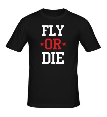 Мужская футболка Fly or Die Stars