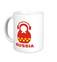 Керамическая кружка Russia dj