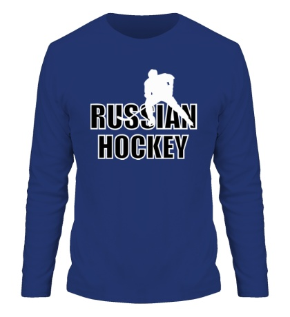 Мужской лонгслив Russian hockey