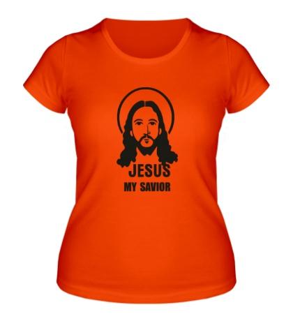 Женская футболка Savior Jesus