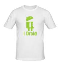 Мужская футболка I Droid