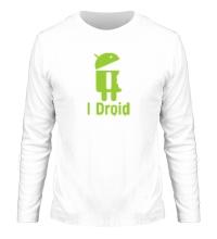 Мужской лонгслив I Droid