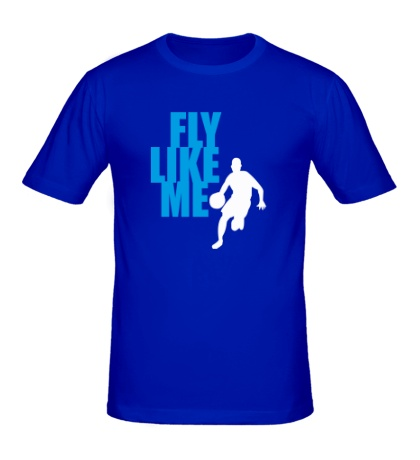 Мужская футболка Fly like me