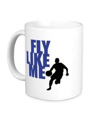 Керамическая кружка Fly like me