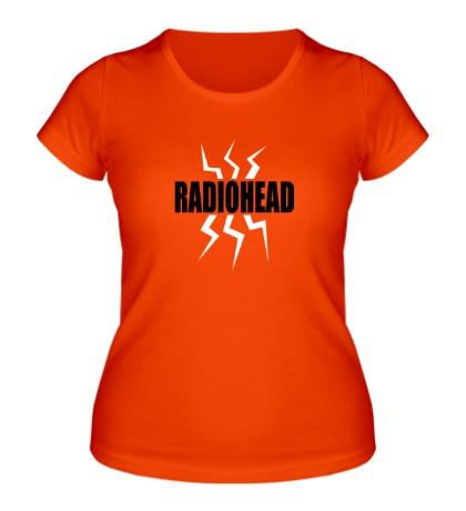 Женская футболка Radiohead Power