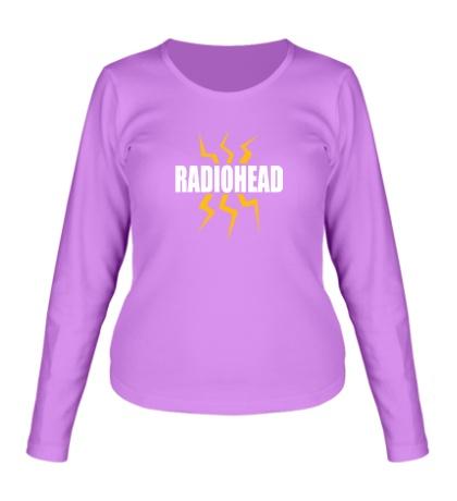 Женский лонгслив Radiohead Power