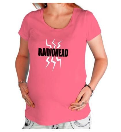 Футболка для беременной Radiohead Power
