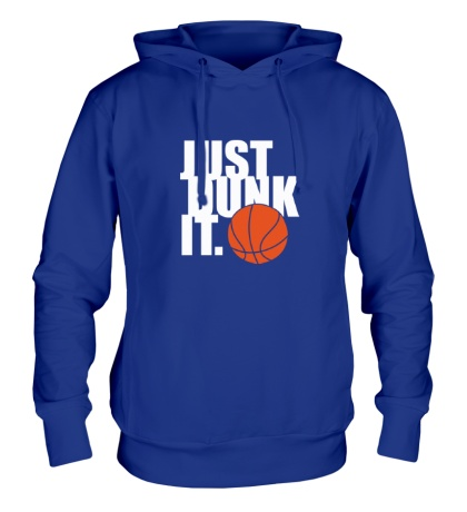 Толстовка с капюшоном Just dunk it Basketball