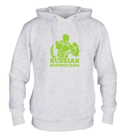 Толстовка с капюшоном Russian bodybuilding