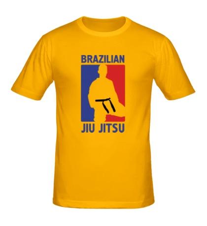 Мужская футболка Brazilian Jiu jitsu
