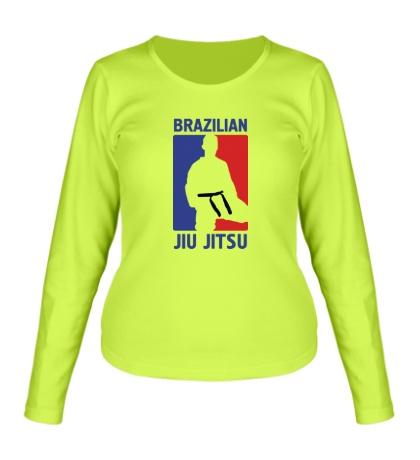 Женский лонгслив Brazilian Jiu jitsu