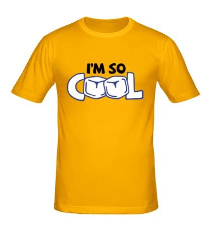 Мужская футболка Im so cool