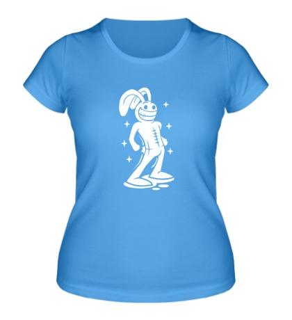 Женская футболка Волшебный кролик