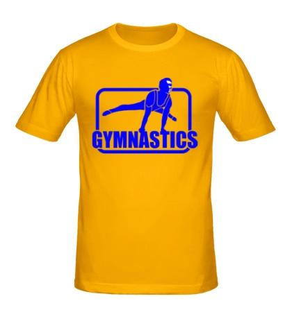 Мужская футболка Gymnastics