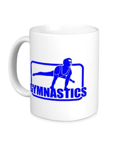 Керамическая кружка Gymnastics