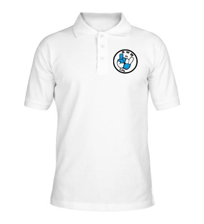 Рубашка поло BMW is Life