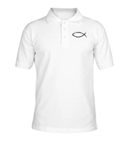 Рубашка поло Христианский символ
