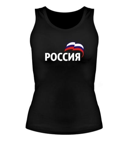 Женская майка Наша Россия