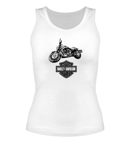 Женская майка Harley-Davidson Motorcycles