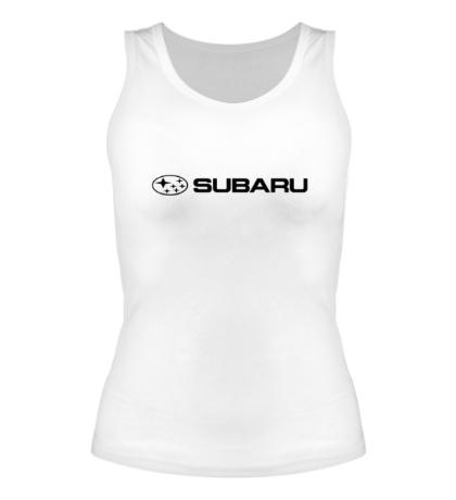 Женская майка Subaru Line