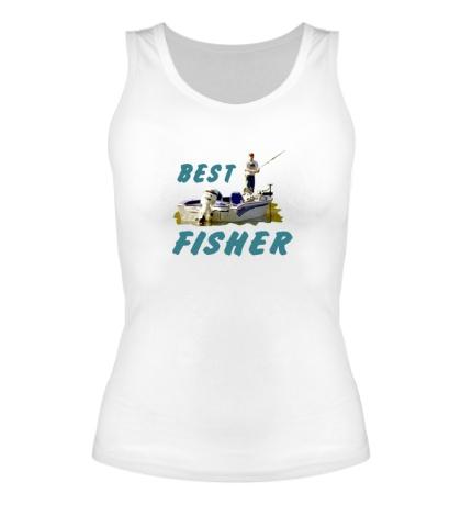 Женская майка Best Fisher