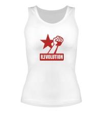 Женская майка Revolution Forever