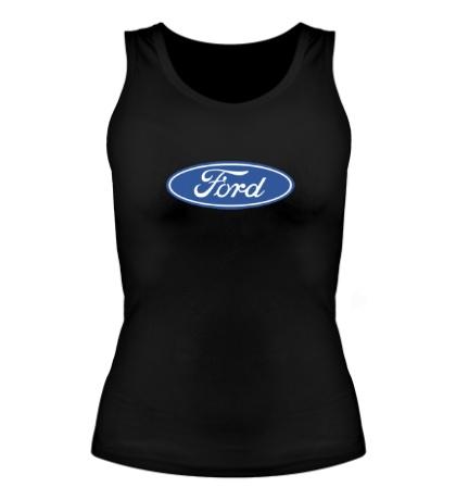 Женская майка Ford Logo
