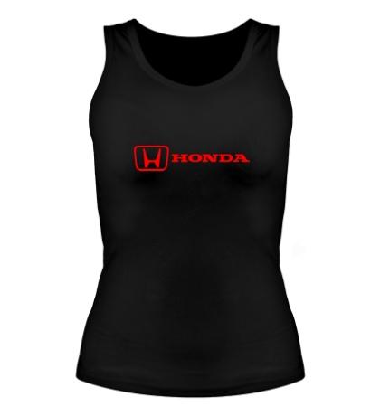Женская майка Honda Line