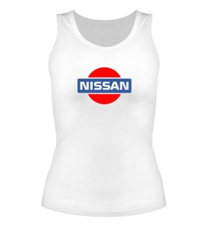 Женская майка Nissan Logo