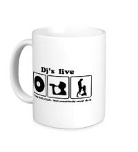 Керамическая кружка Djs live