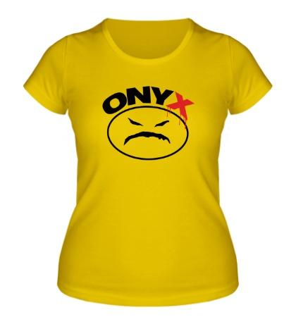 Женская футболка «Onyx»