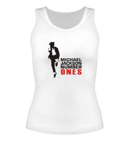 Женская майка Michael Jackson: Number Ones