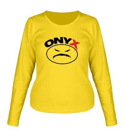 Женский лонгслив Onyx