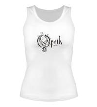 Женская майка Opeth